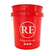 RING'S END RED BUCKET, 5 GAL