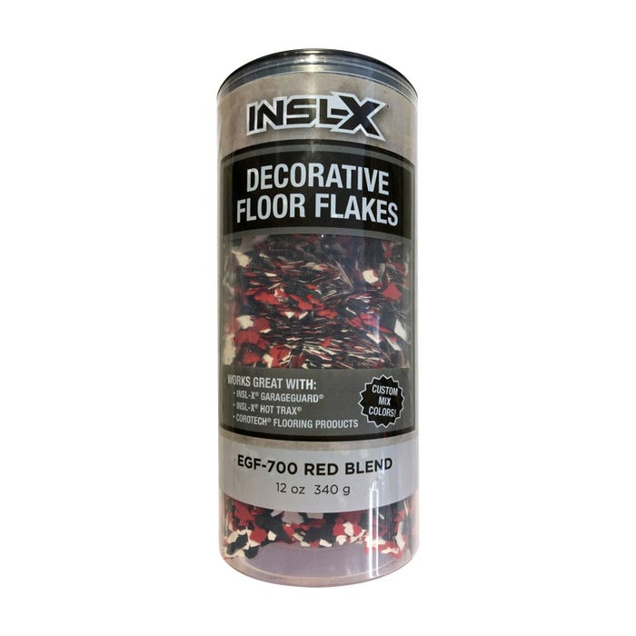 INSL-X RED BLEND FLAKES 12 OZ