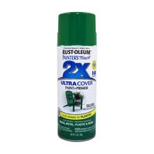 Rust-Oleum Painter's Touch 2X, Gloss Meadow Green, Spray Paint 12 oz