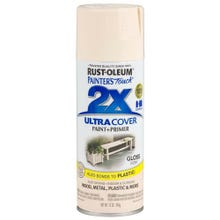 Rust-Oleum Painter's Touch 2X, Gloss Ivory, Spray Paint 12 oz