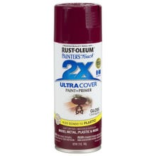 Rust-Oleum Painter's Touch 2X, Gloss Cranberry, Spray Paint 12 oz