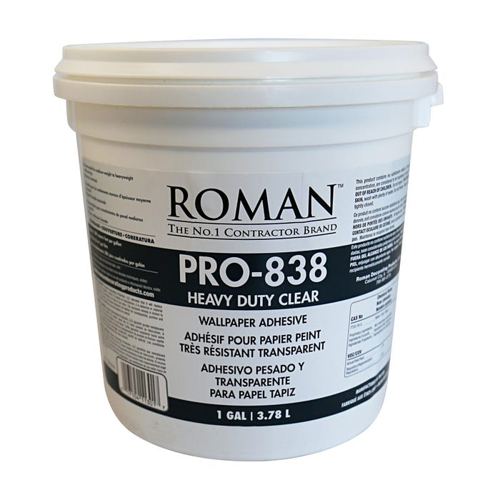 GAL PRO 838 HEAVY DUTY CLEAR WALLCOVER ADHESIVE