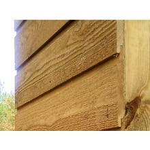 Rough Sawn/Saw Textured Eastern White Pine Wood Siding - Premium Channel