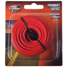 Image 2 of CCI Road Power 55668033/16-1-16 Electrical Wire, 16 AWG, 25 VAC, 60 VDC, Copper Conductor, Red Sheath