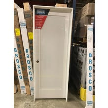 "Shaker Style ""1-Panel"" Flat Panel Door (Prehung Fire Door) 1-3/4"" x 36"" x 84"""