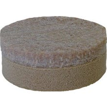 Image 2 of Shepherd Hardware 9915 Furniture Pad, 3/8 in Thick, Felt Cloth, Beige
