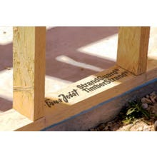 2 in. x 6 in. x 16 ft. Trus Joist StrandGuard TimberStrand LSL Sill (Treated)