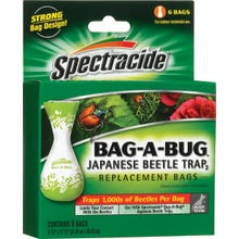 Image 1 of Spectracide Japanese Beetle Trap Bag, 6 bags
