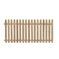 Spruce Picket Fence, Section, 4 ft. x 8 ft.
