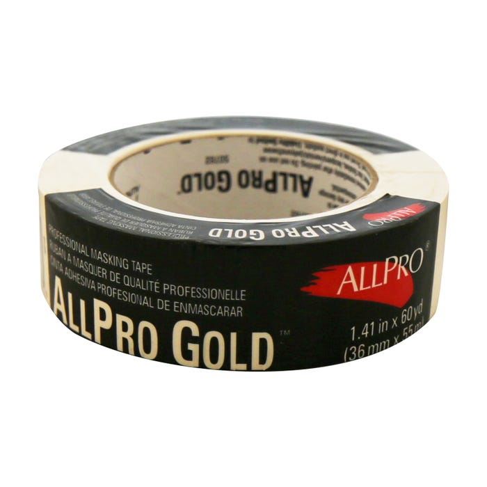 Contractor Grade, High Adhesion Masking Tape 1.5 Inches