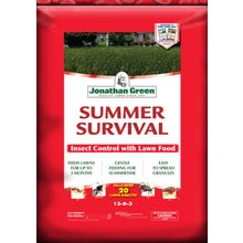 Jonathan Green Summer Survival Insect Control with Lawn Food 15,000 sq. ft. bag