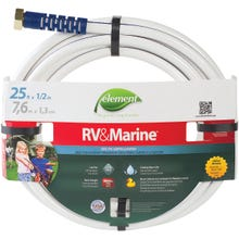 Image 2 of SWAN MRV12025 Water Hose, 1/2 in ID, 25 ft L