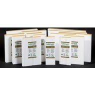 ⁵⁄₄ x 4 x 8 ft. Claymark Solid Gold Protected Primed Pine Trim Boards