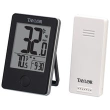 Image 2 of Taylor Digital Wireless Indoor/OutdoorThermometer, 32 to 122 deg F