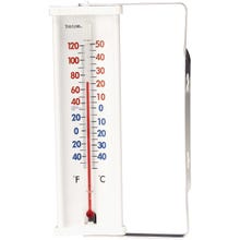 Image 2 of Taylor Outdoor Aluminum Bracket Thermometer