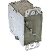Image 2 of RACO 8601 Switch Box, Steel, Gray