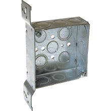 Image 2 of RACO 8196 Electrical Box, Conduit Cable Entry, 14-Knockout, FM Bracket Mounting, Steel