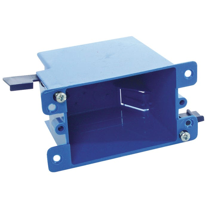 Image 2 of Carlon B114R-UPC Outlet Box, Clamp Cable Entry, Clamp Mounting, PVC