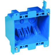 Image 1 of Carlon B225R-UPC Outlet Box, Clamp Cable Entry, Clamp Mounting, PVC