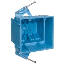 Image 2 of Carlon BH235A Outlet Box, Clamp Cable Entry, Nail Mounting, PVC