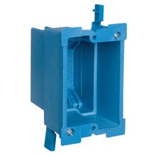 Image 2 of Carlon BH118R Outlet Box, Clamp Cable Entry, Clamp Mounting, PVC
