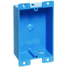 Image 2 of Carlon B108R-UPC Outlet Box, Clamp Cable Entry, PVC