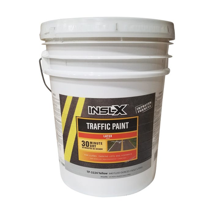 INSL-X Latex Zone Marking Yellow, 5 Gallon