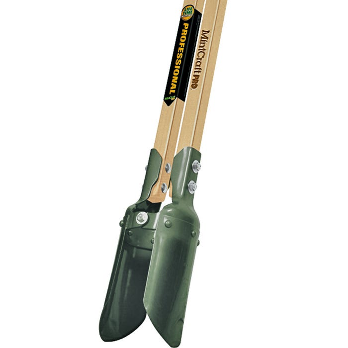 Image 2 of Vulcan 34559 Post Hole Digger, 48 in L Wood Handle