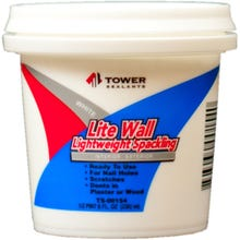 Image 1 of Tower Lite Wall Lightweight Spackling Compound 1/2 Pint