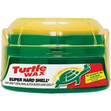 Image 2 of Turtle Wax SUPER HARD SHELL  Car Wax, 14 oz., Paste, Typical Solvent