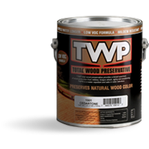Image 2 of TWP® 1500 Series Wood Stain, 1516 Rustic, Gallon