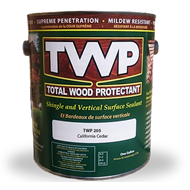 Image 2 of TWP® 200 Series Shake and Shingle Sealant Stain, 200 Clear, 5-Gallon