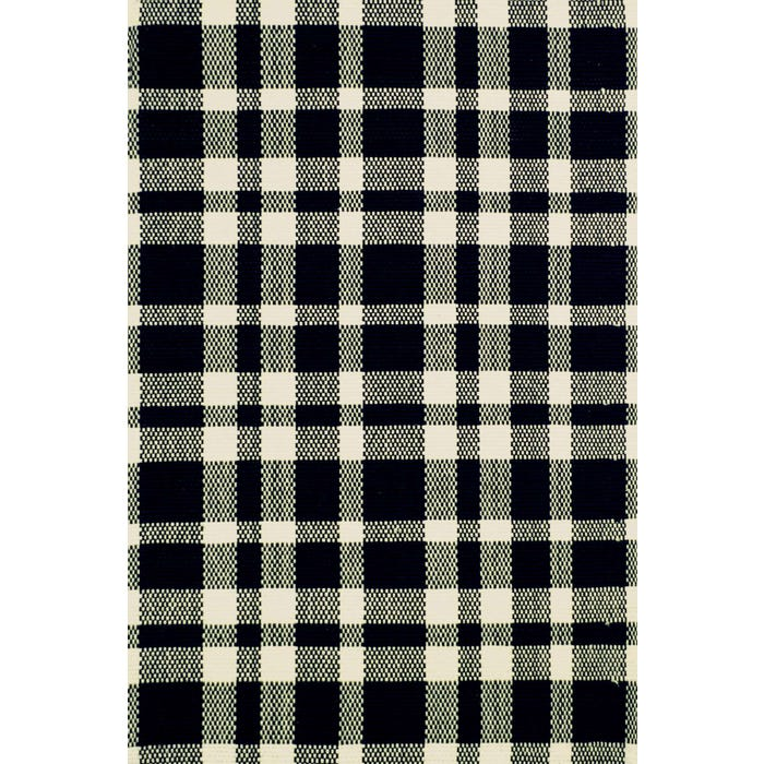 Dash & Albert Tattersall  Woven Cotton Rug