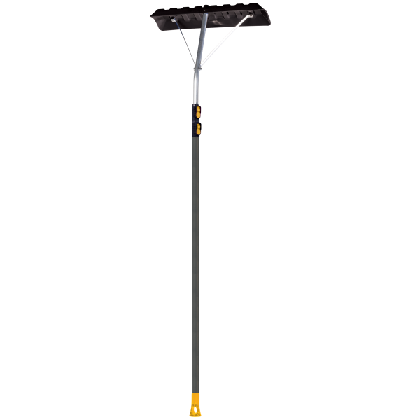 GARANT Roof Rake with a  24 in. Blade and Teloscoping Aluminum Handle