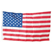 Image 2 of Valley Forge USPN-1 USA Flag, 3 ft W, 5 ft H, Nylon