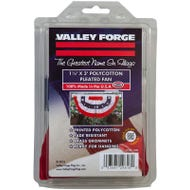 Image 1 of Valley Forge PMF Mini-Fan Flag, 1-1/2 ft W, 3 ft H, Poly Cotton