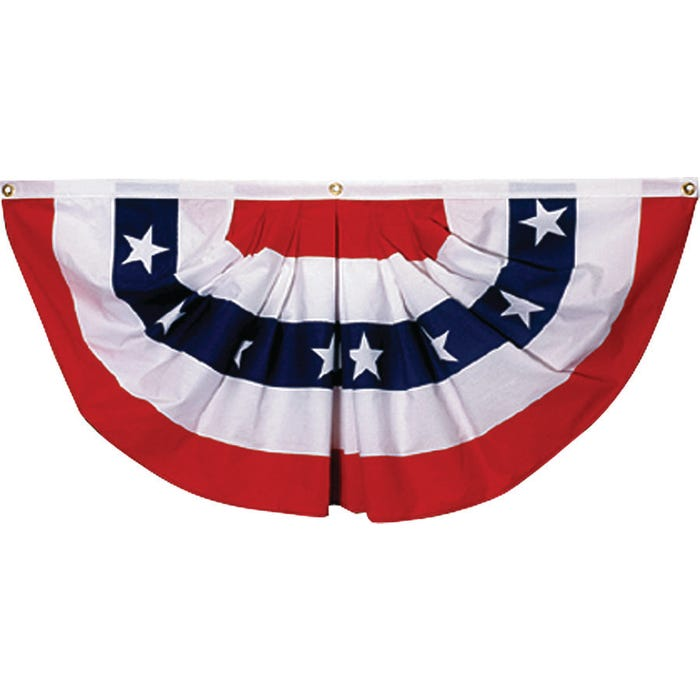 Image 2 of Valley Forge PMF Mini-Fan Flag, 1-1/2 ft W, 3 ft H, Poly Cotton