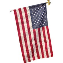 Image 2 of Valley Forge 60650 USA Flag, 2-1/2 ft W, 4 ft H, Nylon