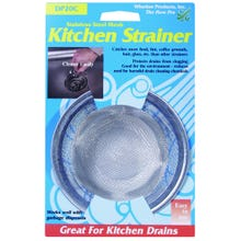 Image 2 of Whedon DP20C Sink Strainer with Ring, Stainless Steel, For: Kitchen Sink