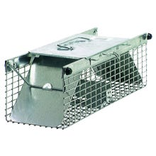 Image 2 of Victor 1025 Animal Trap, 7.22 in W, 5.76 in H, Spring-Loaded Door