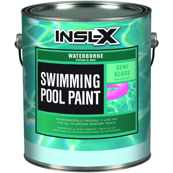 INSL-X WATERBORNE SWIMMING POOL PAINT WHITE