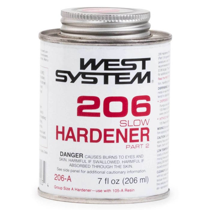 West System 206-A Slow Hardener Part-2, 7 fl oz