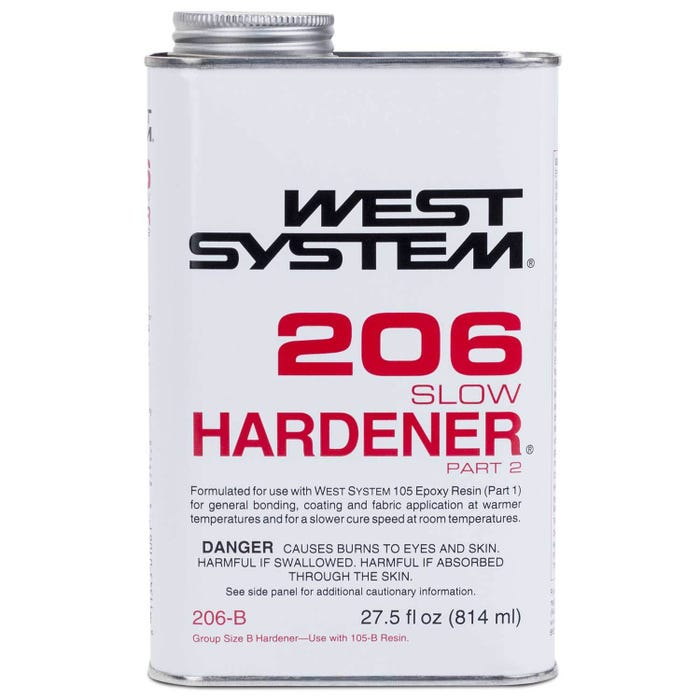 West System 206-B Slow Hardener Part-2, 27.5 fl oz