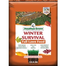 Jonathan Green Winter Survival Fall Lawn Food 10-0-20