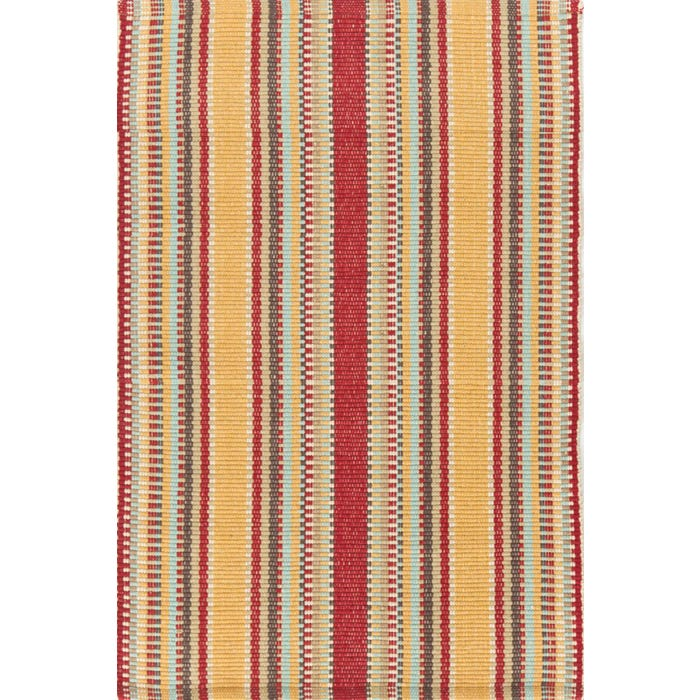 Dash & Albert Wyatt Woven Cotton Rug