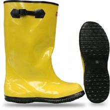"BOSS® RUBBER OVER-THE-SHOE SLUSH KNEE BOOT 17"" YELLOW"
