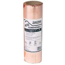 Image 1 of York Roll Copper Flashing, 3 oz., 12 in. x 60 ft.