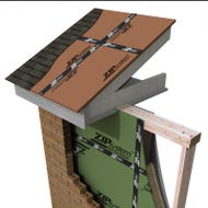 Huber ⅝ in. T&G ZIP System Wall and Roof Sheathing, 4 ft. x 8 ft. (SIENNA)