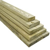 2 x 8 x 8 ft. Southern Yellow Pine #1 Grade Pressure Treated  Boards