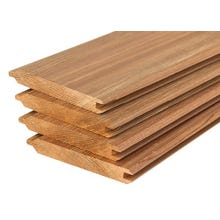 A & BTR Red Cedar V-Joint Tongue & Groove Siding (Smooth / Rough)